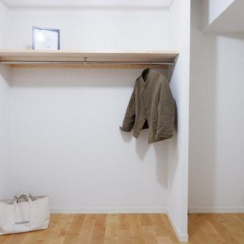 見せる収納、腕がなります。※家具・小物はサンプルです