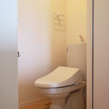 【1階】トイレは個室です※ 写真は前回募集時のものです