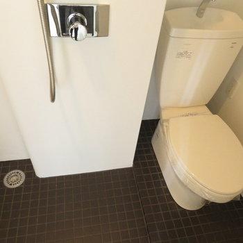 シャワーのみですけど※写真は同間取り別部屋のものです。