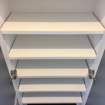 シューズボックスは天井近くまで、たくさん入ります。