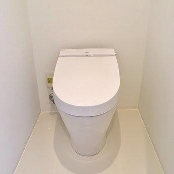 こんなにすっきりしたトイレがあったでしょうか。