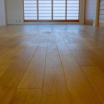 床がいい表情してますね。