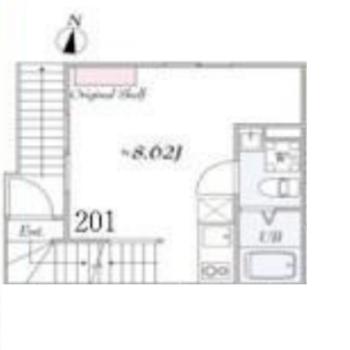 玄関は1階で、居室は2階なのでスペースを存分に使えます