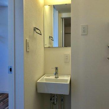 すっぽり隙間に洗面台 ※写真は前回募集時のものです