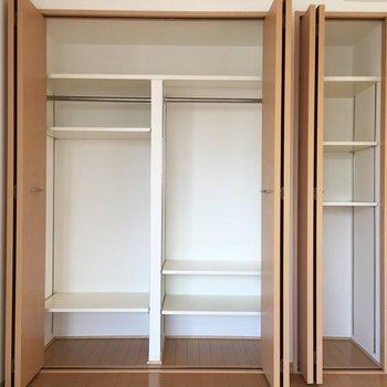 収納するものに合わせて棚の位置を変えれます。(※写真は前回募集時のものです)