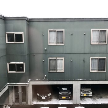 眺望は同じ建物のおむかえサン