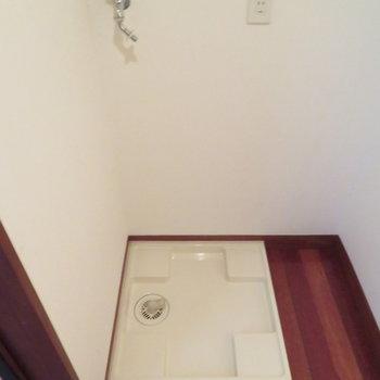 脱衣所完備です※写真は4階の同間取り別部屋のものです
