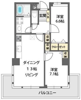 ロイヤルハイツ今福鶴見駅 の間取り