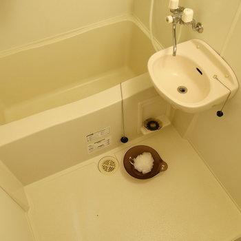 2点ユニットタイプです。※写真は2階の同間取り別部屋のものです。