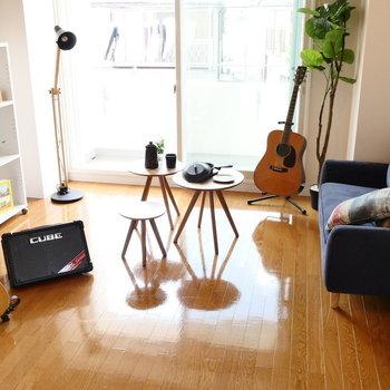 楽器演奏可能!防音設備あるお部屋です。※写真は2階の同間取り別部屋のものです。