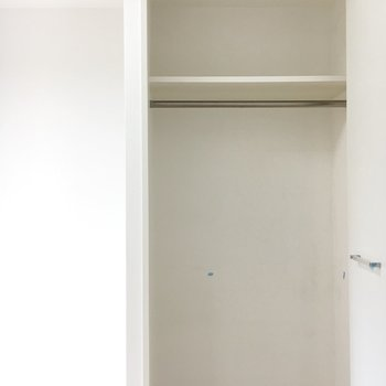 上下しっかりわかれてます!※写真は4階の同間取り別部屋のものです。