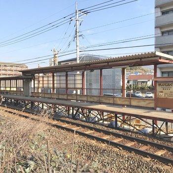 最寄りのJR香椎神宮駅。ノスタルジー。
