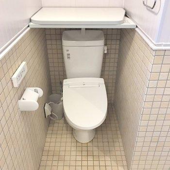 こんなに広いバス・トイレ一緒なら問題ないねっ。