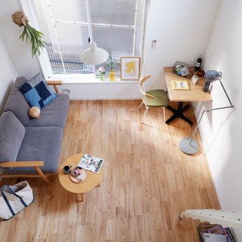 【イメージ写真】無垢を使った心地よい空間です!(※家具は見本です)