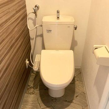 トイレはウォシュレット付きですよ