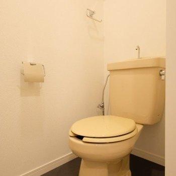 トイレは既存のを綺麗に!