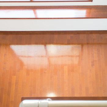 ロフトからの眺めです。※写真は1階の同間取り別部屋のものです