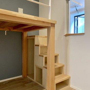 階段の中は収納だ〜!便利!※写真は前回募集時のものです
