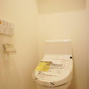 トイレは個室! ※写真は前回募集のものです。