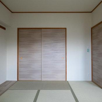 リビング横には6畳の和室。ここは、家族団欒のスペースとして使うのが良さそう。