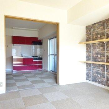 居室の床はすべて絨毯!