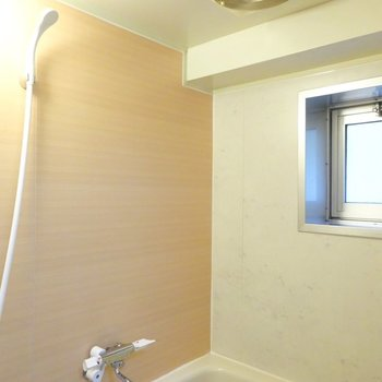 壁とシャワーは新しいです。窓があるのはうれしいですね!