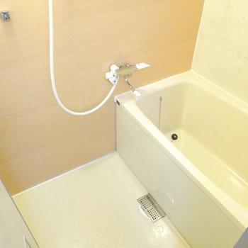 浴槽と床はそのままですがきれいで広いです!