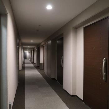 うち廊下なので清潔感◎