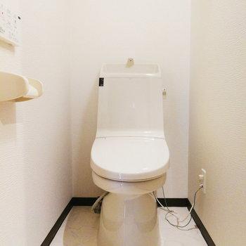 お手洗いは個室!※写真は前回募集時のものです