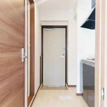 最後は玄関の収納を見ましょう※写真は前回募集時のものです