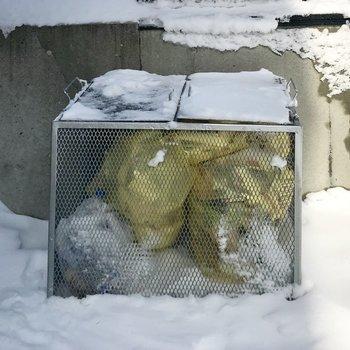 敷地内ゴミ置き場も完備