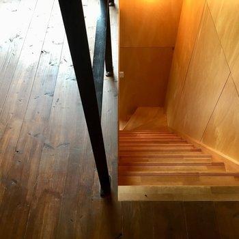 そろそろ1階へもどりましょうか※写真は同タイプ別室のものです