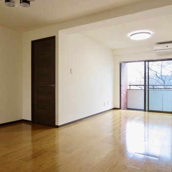 【LDK】扉がなくても空間で仕切れそう