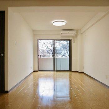 【LDK】大きめの家具を置いてもゆとりあり