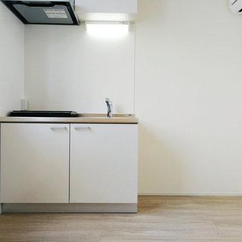 【2F】キッチンは広々と使えそうですね。