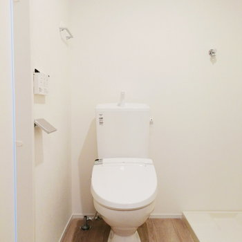 【2F】で、トイレですね。それぞれ余白があるのは嬉しい