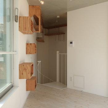【3階】居室が三角形のようになっております