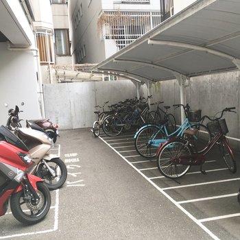 自転車通さんもぜひ〜!