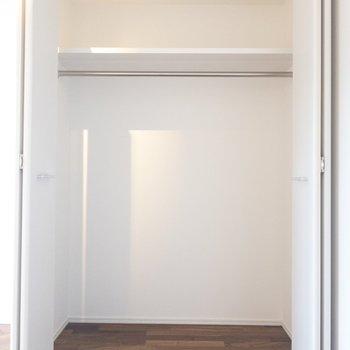 わりとゆったりめ!?賢く使おう。 ※写真は2階の同間取り別部屋のものです。