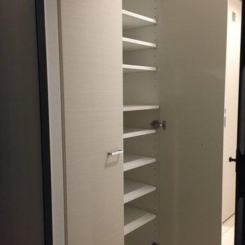容量たっぷり。※写真は9階の同間取り別部屋のものです