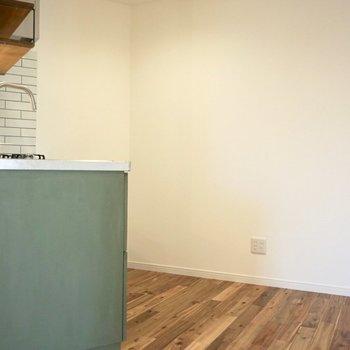 キッチンスペースは広い!