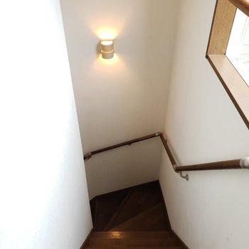 階段を降りると・・・