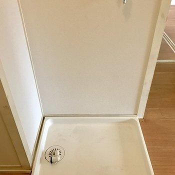 洗濯機は室内に置けます◎※写真は4階の同間取り別部屋のものです