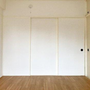 間取り図下の洋室。※写真は4階の同間取り別部屋のものです