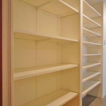 大容量シューズボックスとしても、収納としても◎※写真は同タイプの別室