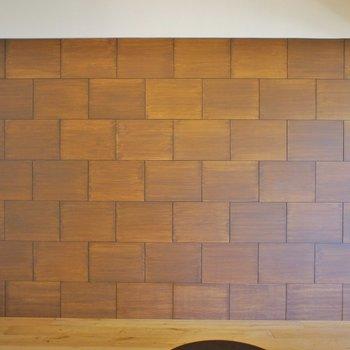 テレビを置きたくなる壁※写真は同タイプの別室