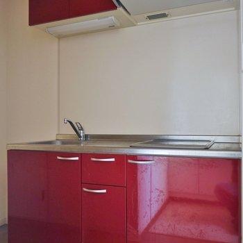 大人っぽくきめてみたキッチンは・・・※写真は前回募集時のもの