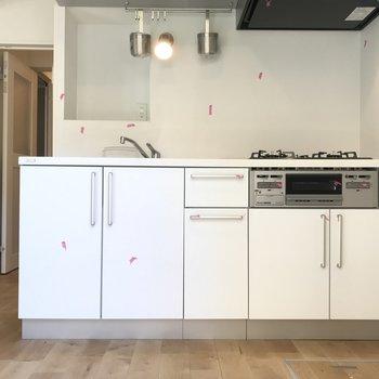 収納もしっかり!キッチンが充実しそうです!!