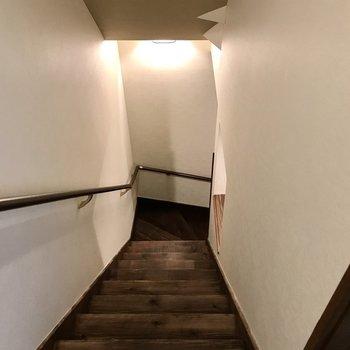 水回りは1階に(※写真は清掃前のものです)