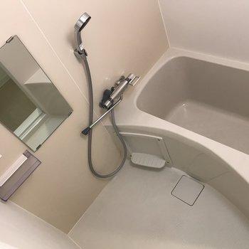 浴室もスペース十分